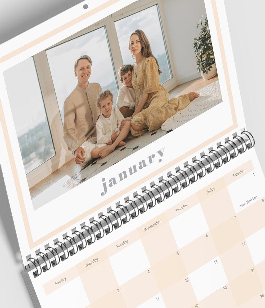 11 x 8.5 Flip 12-Month Wall Calendar