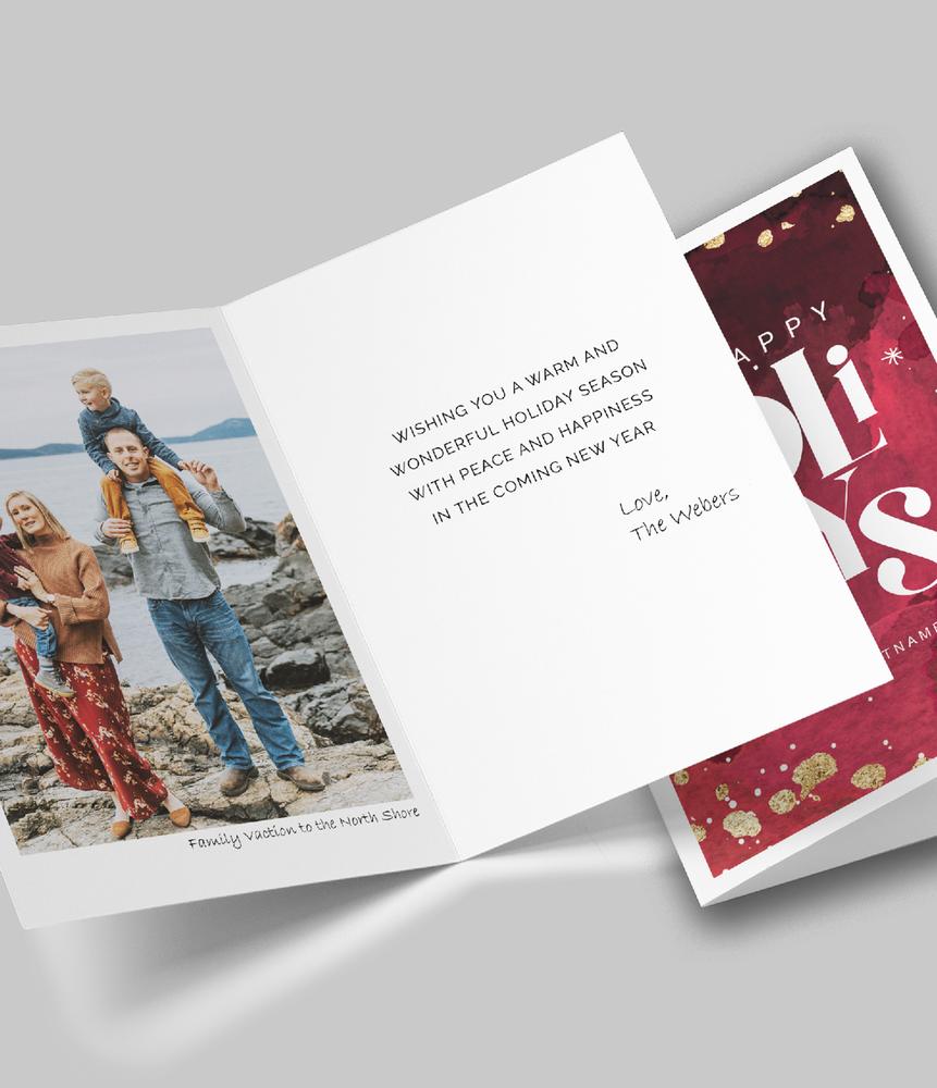 Holiday Folded Cards