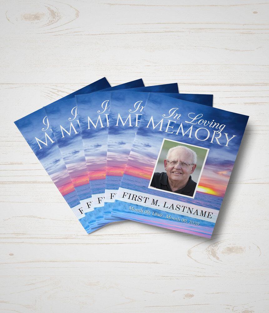 Memorial Fold Cards