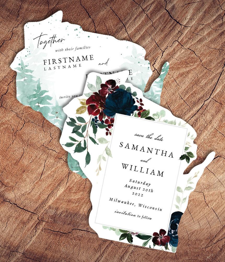 Wisconsin Invitations