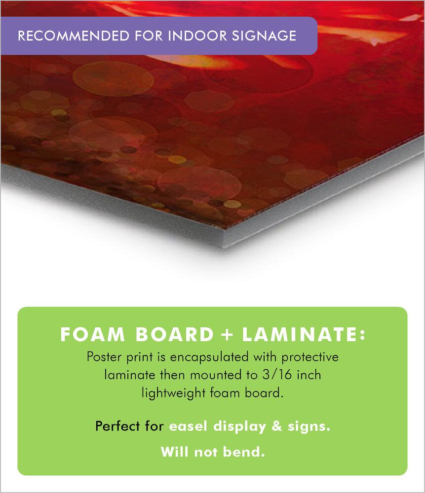 Foam Board + Laminate