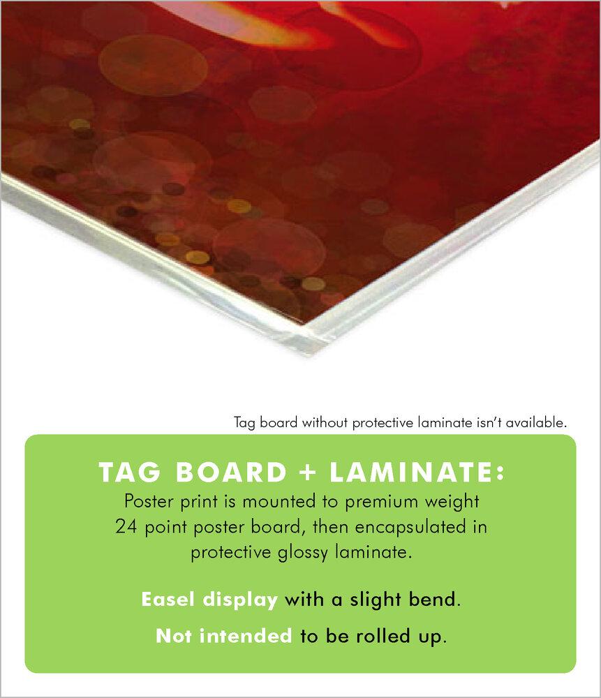 Tag Board + Laminate