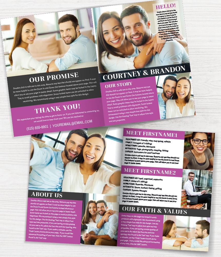 Adoption Profile Brochure Half Fold